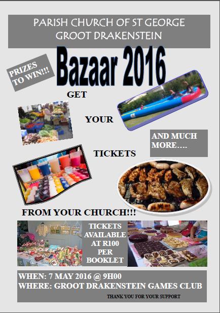 St George Parish Bazaar